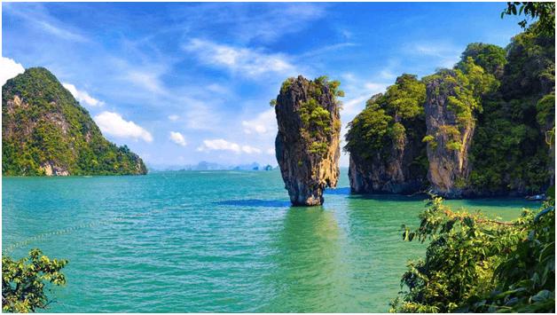 Phuket's green hills